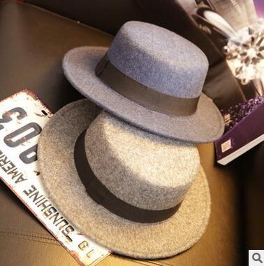 High Quality 100% Wool Fashion New Vintage Women Ladies Floppy Wide Brim Wool  Felt Fedora Cloche Hat Cap Tea Party Hats Rain Hat From Sweetdream518 a5de2cfc6dd