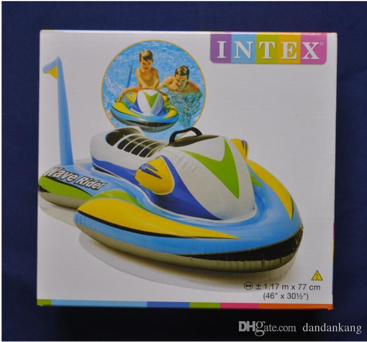 2019 Jet 117x77cm Ski Boat Inflatable Children Pool Float