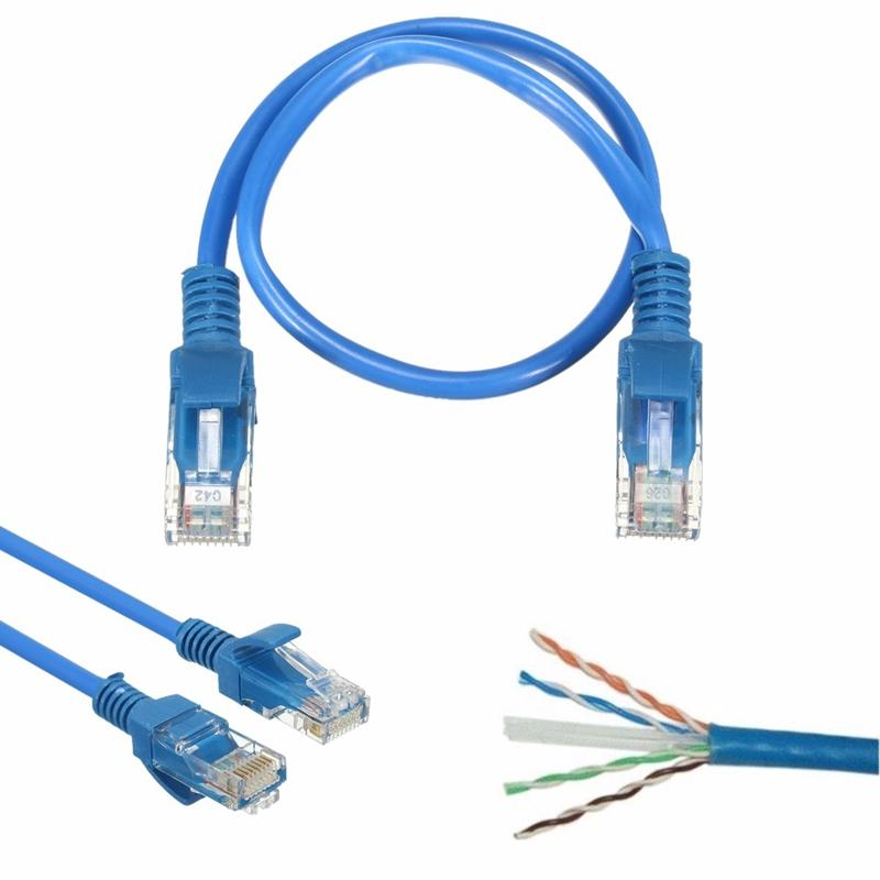 20cm Rj45 Cat 5 Ethernet Cable Male To Male Network Lan Internet ...