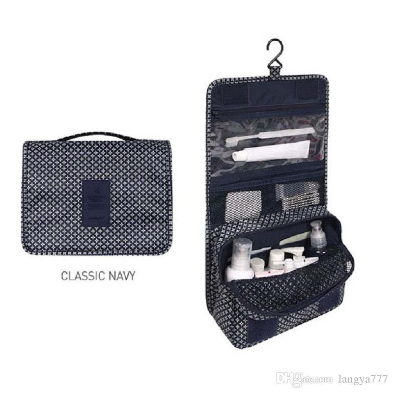 Portable Water Proof Tidy Folding Wash Cosmetic Bag Compact Makeup ... 1eeb342717581
