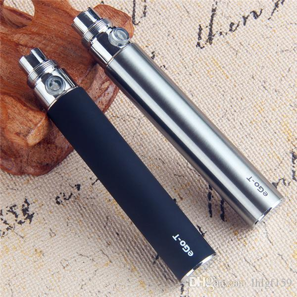 Em estoque !! EGO T Bateria 650 mah 900 mah 1100 mah Ego T Cigarro Eletrônico 510 Bateria de Rosca com Carregador USB para CE4 MT3 Protank DHL