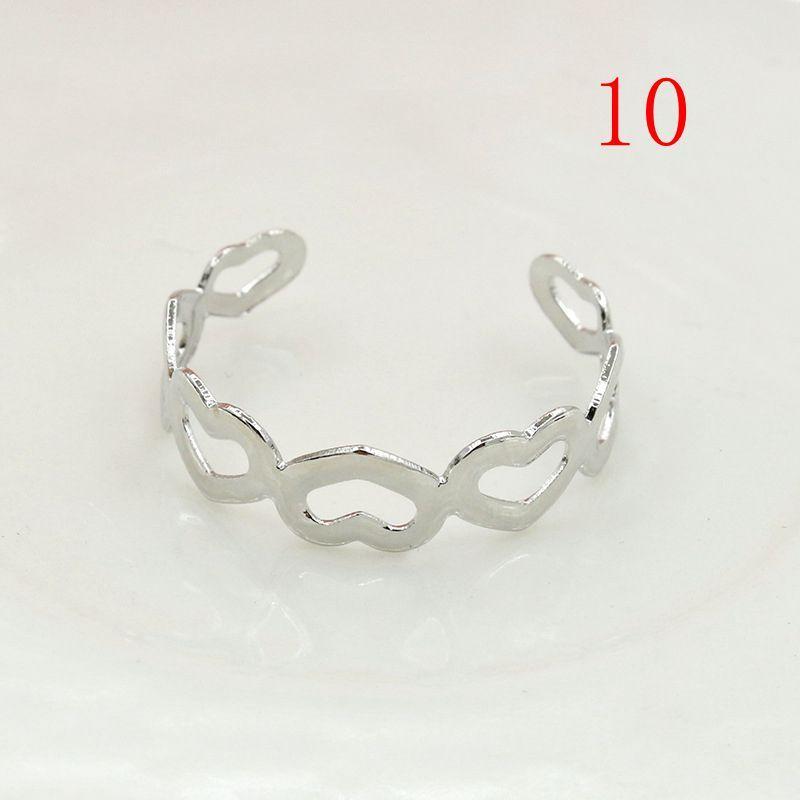 Mode Silber Liebevolles Herz Pentagram Kreuz Ring Für Frauen Gold Open Knuckle Ringe Hochzeit Fingerringe