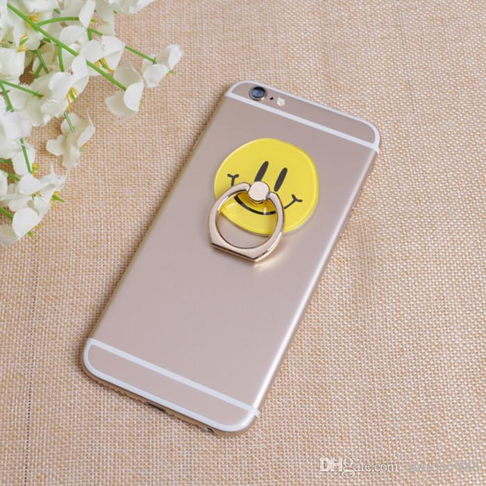 a6b2924f2b8 Hot Sale Wholesale Cartoon Image 360 Degree Rotary Ring Lazy Mobile Phone  Holder Apply To All Mobile Phones 055 Mobile Phones Accessories Wholesale  Cell ...