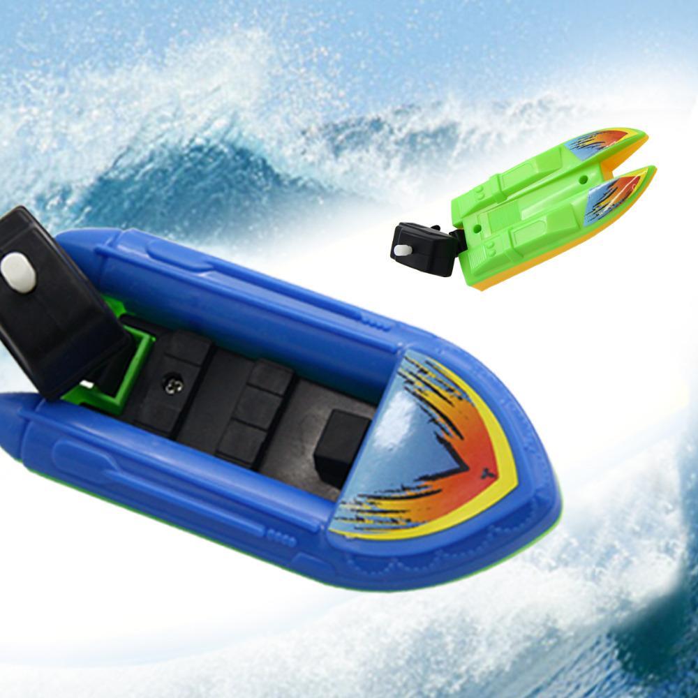 2018 Wholesale Bath Toys Moto Speed Boat Toy Boy Toy Baby Child 12cm ...