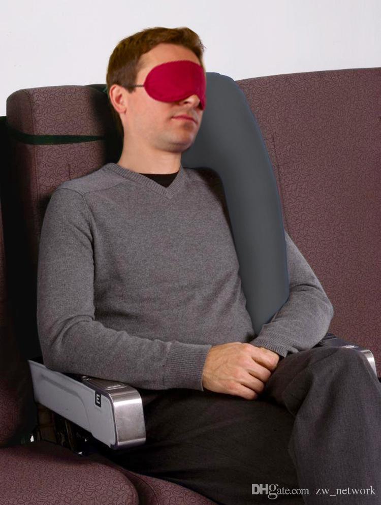 Cuscino gonfiabile Cuscino da viaggio Diversi cuscini innovativi l'aereo da viaggio Cuscini il sonno dell'auto Supporto il mento sul collo