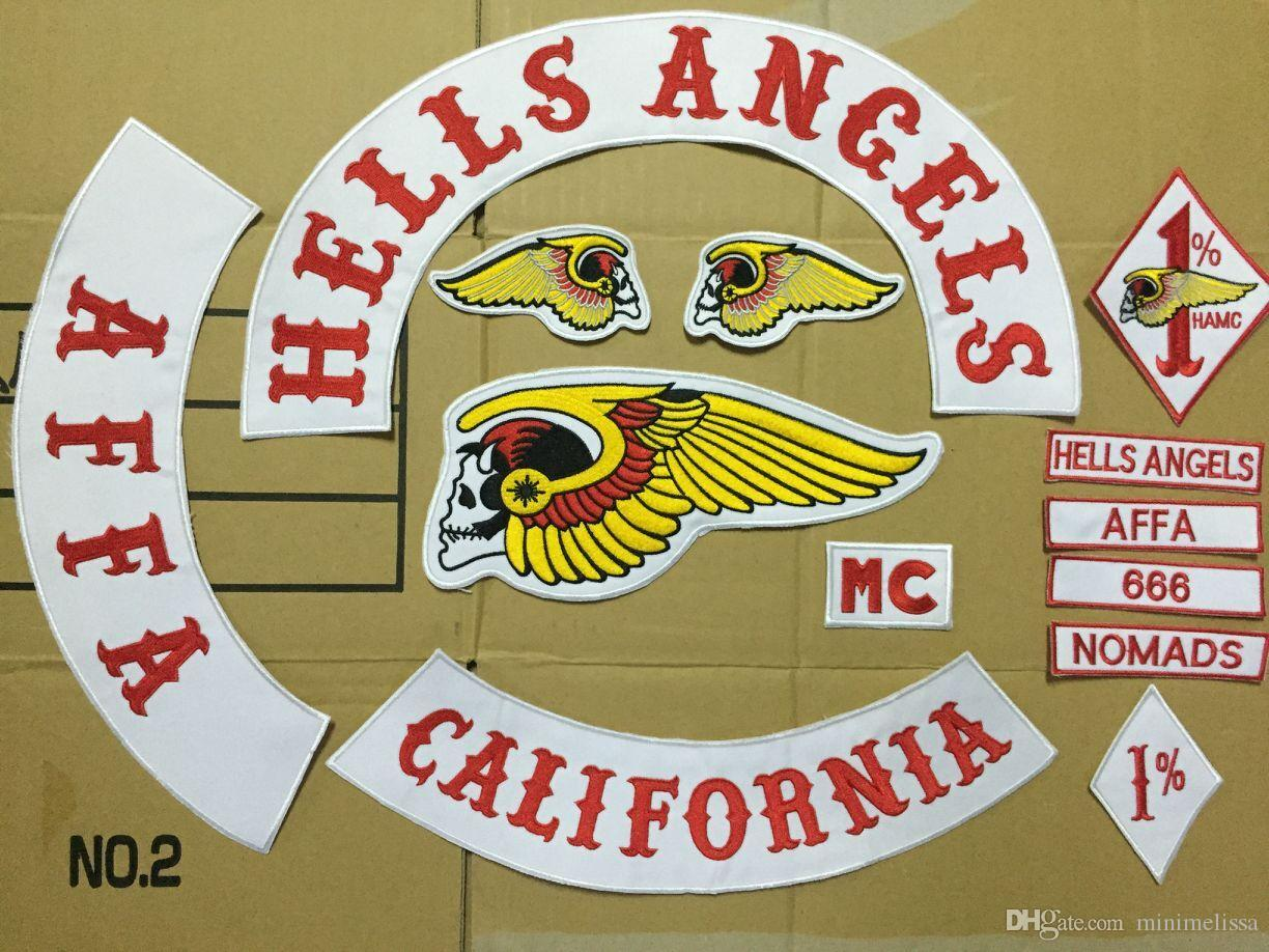 gro handel hells angels patches motorradjacke iron on. Black Bedroom Furniture Sets. Home Design Ideas