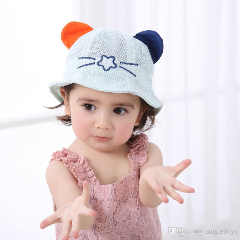 Baby Hat Boy Girl Beanie Caps Fashion Bucket Toddler Hat Children Caps Kids Boys Girls Sun Hat Kids Cap