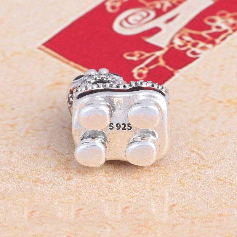 Christmas Lion Dance Charms Authentische S925 Sterling Silber Perlen Passt Original Marke Schmuck Armband 792043CZ