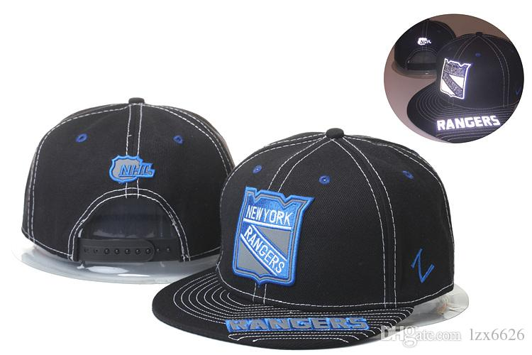 best authentic ec452 d0679 ... authentic mens new york rangers zephyr design nhl snapback hats black  color sport hockey vintage mn
