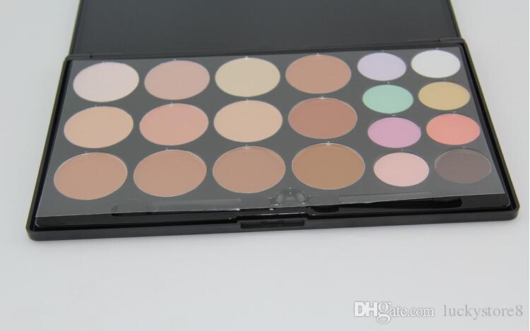 Concealer palette Face Cream Concealer Facial Care Camouflage Makeup Palette with Makeup Brushes DHL