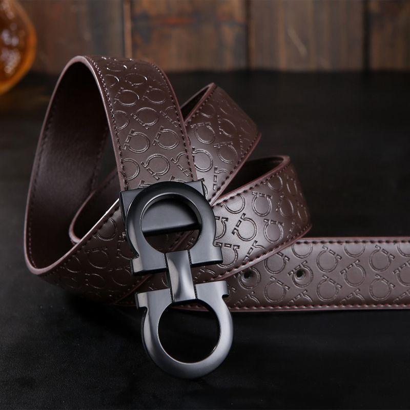 Ari ceintures Noir Lisse 12 st. 4 CM
