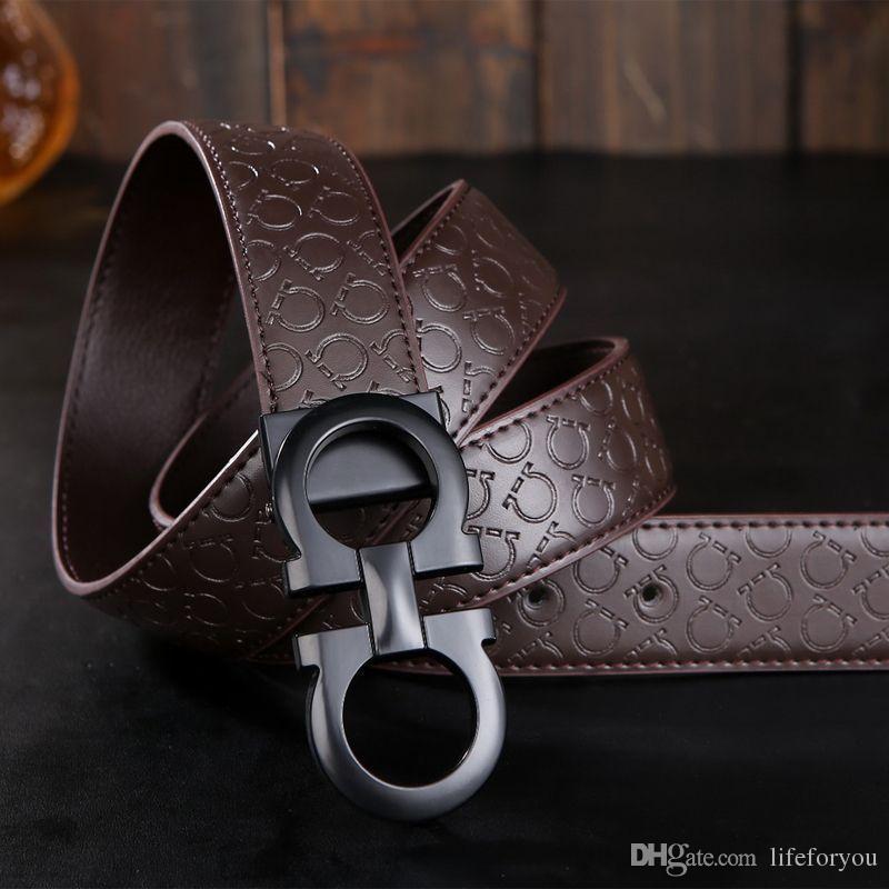 أحزمة مصمم أحزمة فاخرة للرجال كبير مشبك حزام أعلى أزياء رجالي أحزمة جلدية بالجملة الحرة الشحن