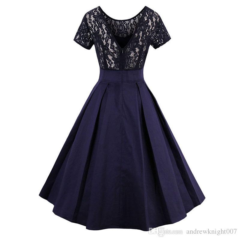 Vestiti Eleganti Anni 50.Acquista Abiti Vintage Anni 50 Anni 60 Abiti Eleganti Abiti Da