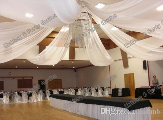 Wedding Ceiling Drape Canopy Drapery For Decoration Wedding Fabric 0.7m*10m  Piece Roof Polyester Knitted Fabric Birthday Party Needs Birthday Party  Online ...