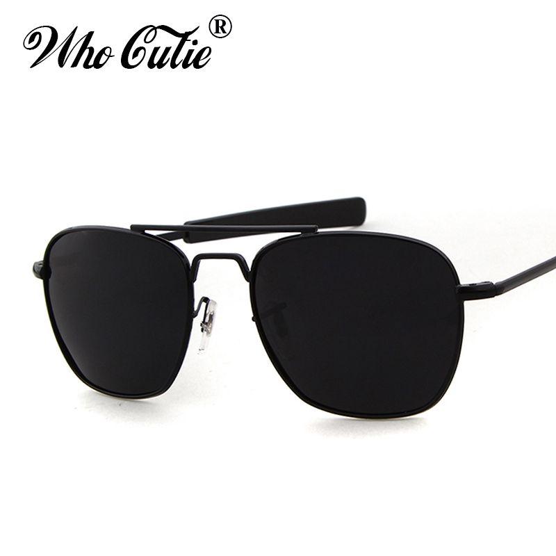 Have An Inquiring Mind Aviation Sunglasses Men Women 2018 Vintage Brand Designer American Army Military Optical Ao Sun Glasses Oculos De Sol Masculino Men's Sunglasses
