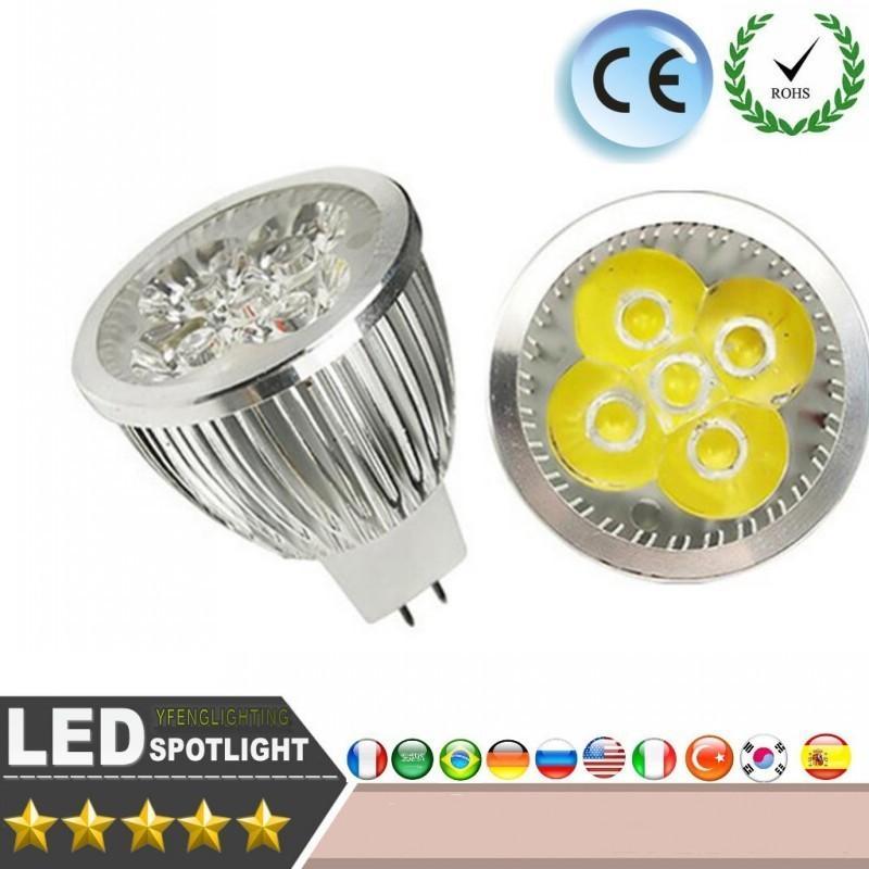 Best High Power Led Spotlight Lamp Light Mr16 12v 5x3w 15w Led ...