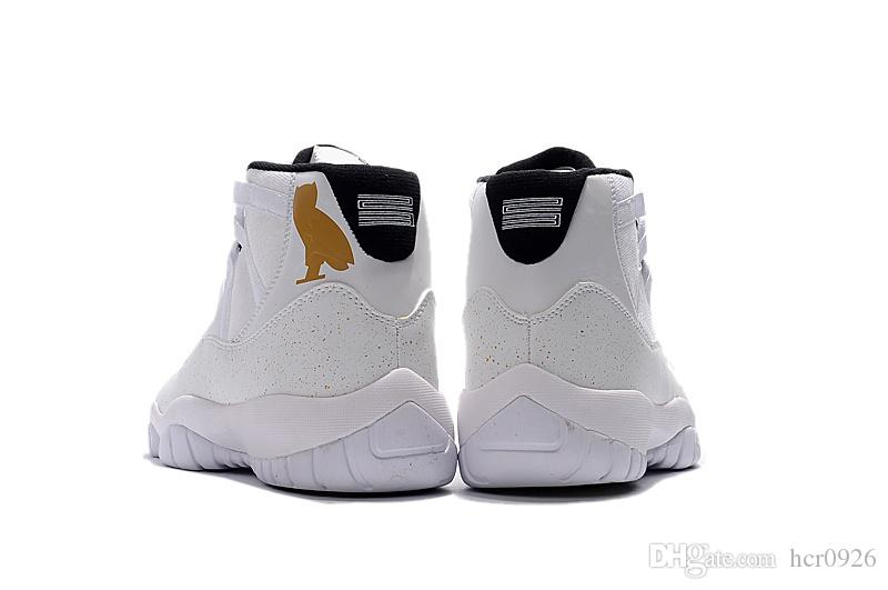 ... Sports 11 White Cats Sneaker Wholesale Prices Mens Basketball Shoes 11s  Ovo Ovo Mens Sneaker 11s Sneaker White Cats Online with $60.95/Pair on  Hcr0926's ...