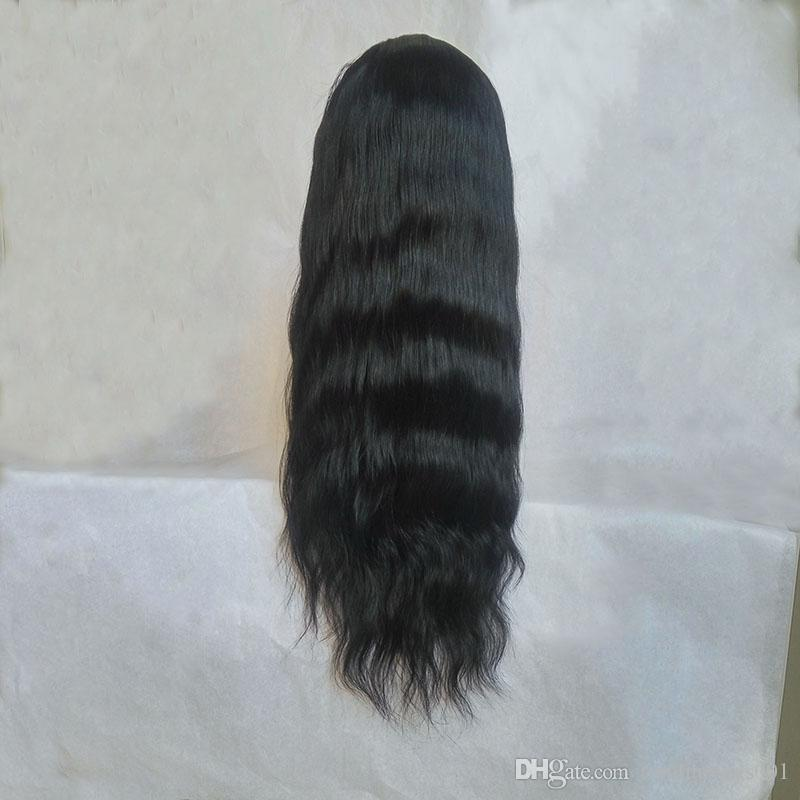 New Arrival Sally Beauty Supply Full Lace Wig With Baby Hair Natural