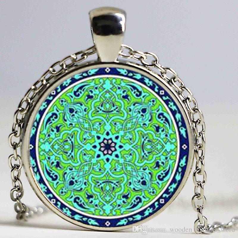 Wholesale Necklace Jewelry For Women Om Symbol Buddhismzen Charm