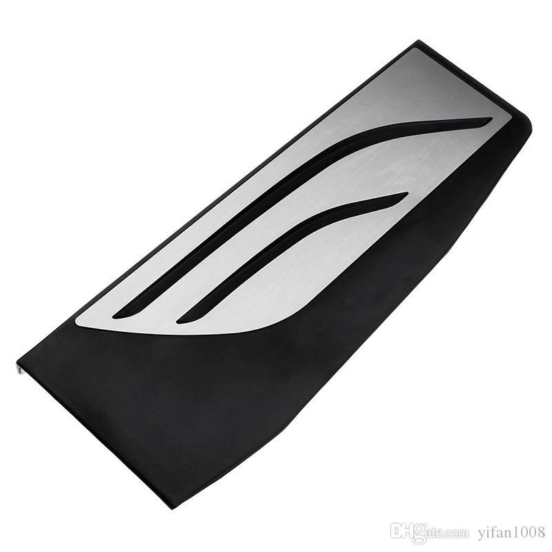 No Drill and Non Slip Gas Fuel Brake Footrest Pedal Plate Pad AT For BMW F10 F01 F06 F13 F25 F26 E83 E89 X3 X4 Z4