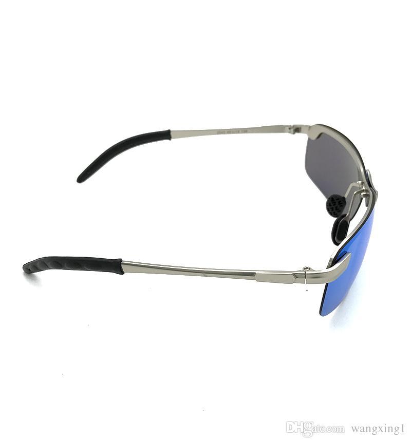 Marca BoyRose Lentes Azuis De Luxo óculos de Sol Para homens Moda Evidence Raios óculos de Sol Óculos de Designer Eyewear Para homens Mulheres Ban ...