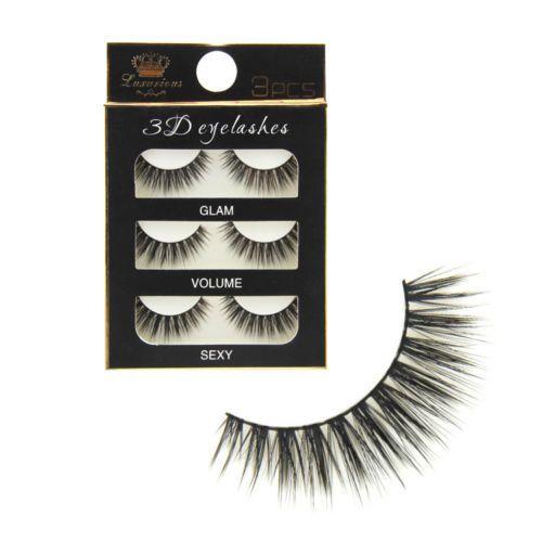 9a9e2b77b10 Natural Long 3D False Eyelashes Makeup Handmade Thick Fake Eye Lashes  Extension Tools Eyelash Extension Course Eyelash Extensions London From  Global_baby, ...