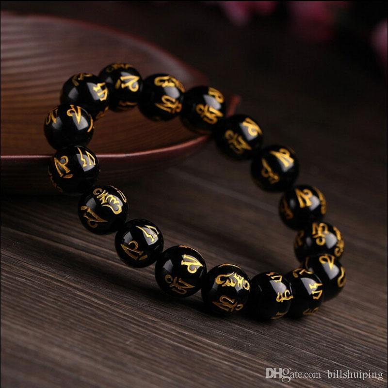 Hot Sale New fashion Transshipment Buddha beads Bracelet Wrist Mala Beads Healing Crystals Bracelet Lucky Chakra Jewelry
