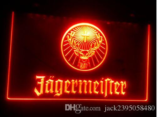 Man Cave Neon Signs For Sale : Online cheap b jagermeister beer bar pub club d signs led