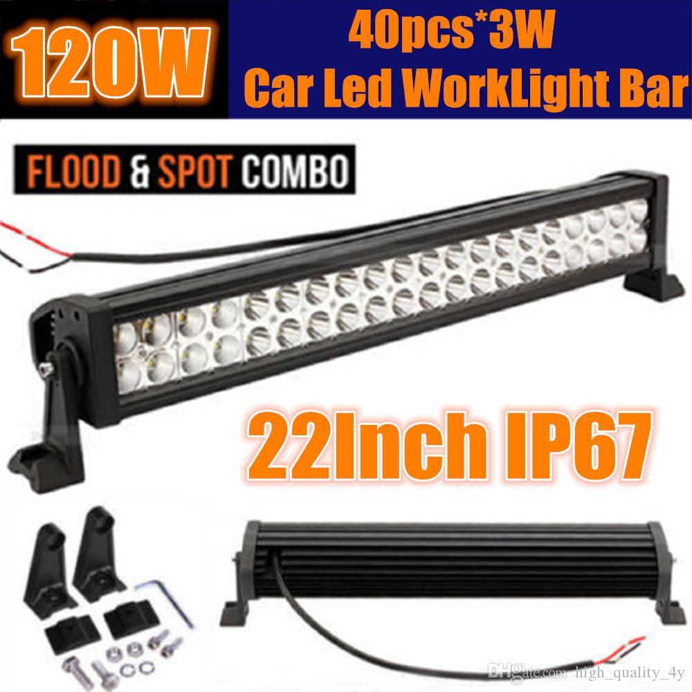 22 120w car led light bar 60 led3w combo beam for off road suv 22 120w car led light bar 60 led3w combo beam for off road suv boat truck jeep pickup tractor emergency rescue atv ute trailer 10 30v 22 inch led working mozeypictures Choice Image