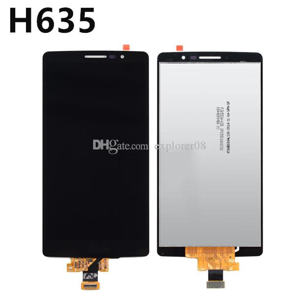 Black LCD Screen For LG G4 G5 V20 V10 H635 LCD Display Touch Screen Digitizer Full Assembly Replacement Parts