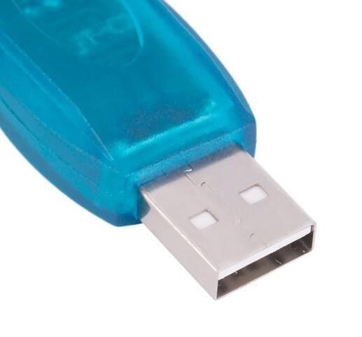 أجهزة الكمبيوتر الشبكات USB 2.0 إلى RS232 المسلسل محول 9 دبوس محول ل Win7 / 8 موصلات كابلات الكمبيوتر