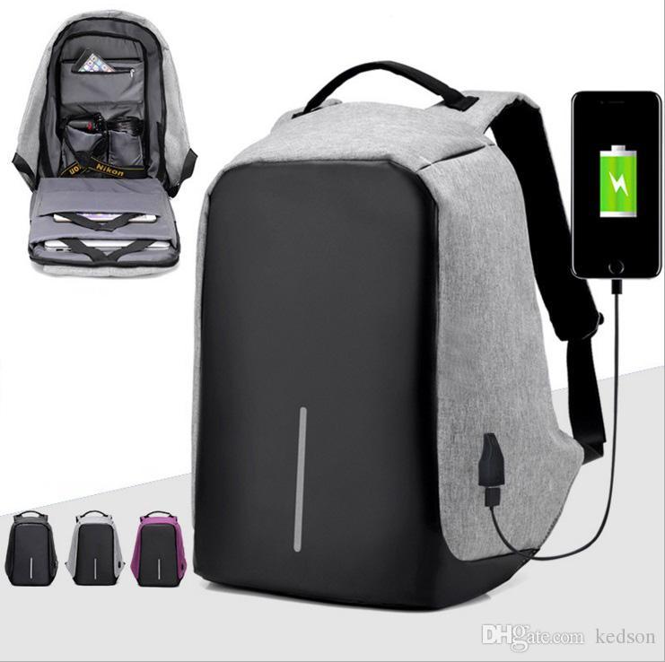 Backpack Dan Sling Bag Usb Large Capacity Travel Bag Waterproof ...