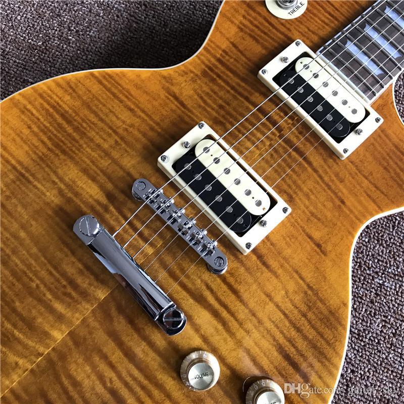 high quliaty Slas Appetite Electric Guitar 2 Zebra pickups, with one piece body and one piece neck guitarra