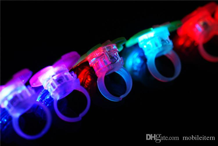 Cheap Cute LED Lighted Toys Gifts Cartoon ring light wholesale Flashing ring LED toys small gifts 1356