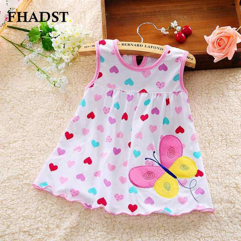 0b36919be 2019 Wholesale 2016 Cute Vestido Infantil Baby Girl Dress Cotton ...