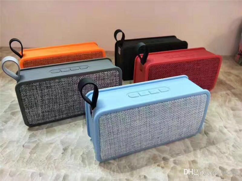 NEW JC200 Portable Wireless Speaker Bluetooth Speaker Bass Sound Subwoofer  Mini Speakers Support TF Card With FM Radio & Mic