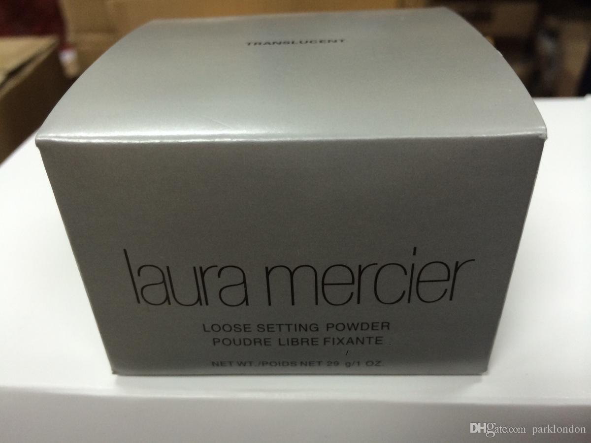 Laura Mercier Foundation Сыпучие Установка порошок Fix Powder Makeup Min Pore Brighten Корректор DHL Free High Quality