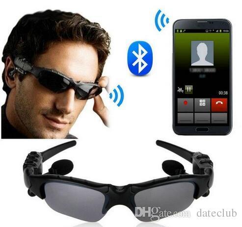 e488286e42 Sunglasses Headset Smart Glasses Stereo Sports Wireless Bluetooth V4 ...