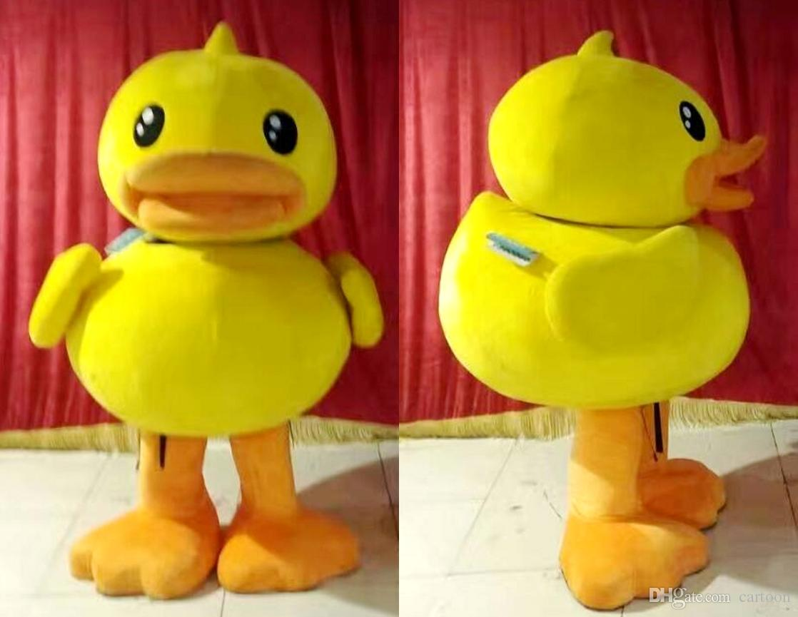 Real Pictures Deluxe Rubber Duck Mascot Costume Adult Sized