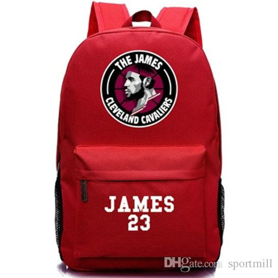 b4022d7a176f 2019 LeBron James Backpack MVP Star School Bag Good Player Daypack  Basketball Schoolbag Outdoor Rucksack Sport Day Pack From Sportmill
