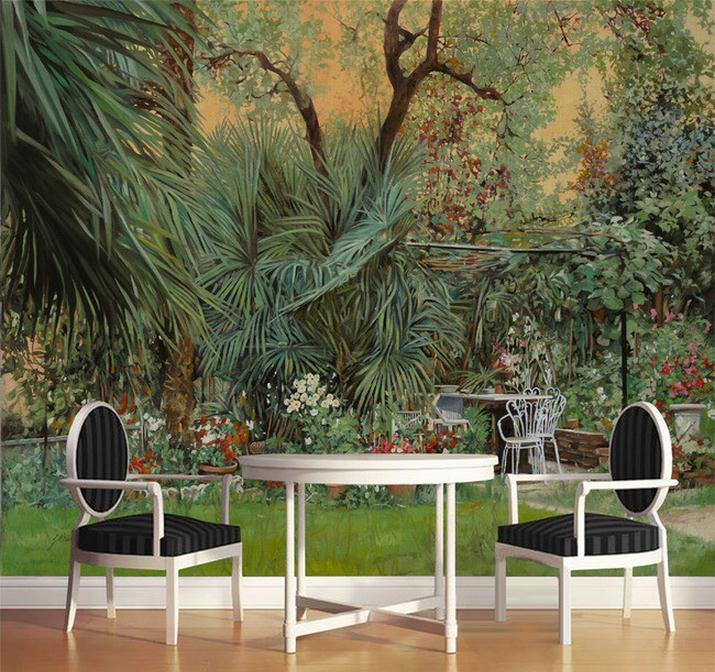 Wholesale 3d room wallpaper custom mural non woven for Custom mural wallpaper uk