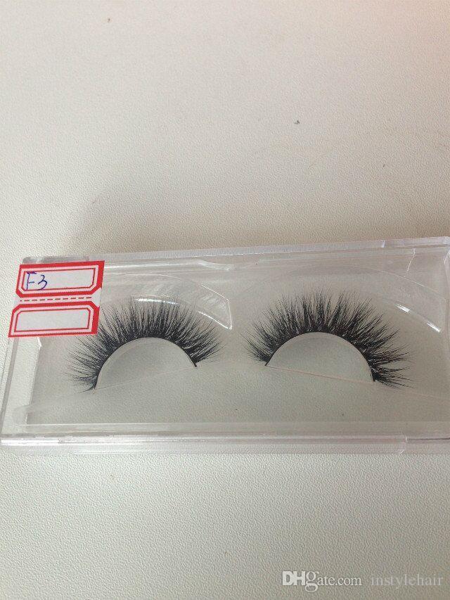 3D Mink False Eyelashes 100% Real Mink Natural Thick False Fake Eyelashes Eye Lashes Makeup Extension Beauty Tools
