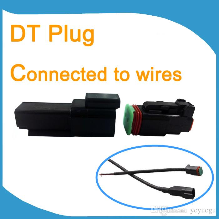 Black Deutsch Dt Connectors Kit Dt 2 Pin Connectors Kits Adapters ...