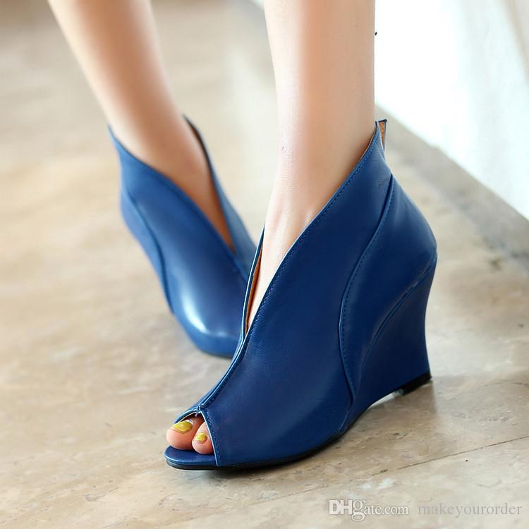 849f9c5f673 Wholesaler Factory Price Hot Seller New Peep Toe Style Fish Mouth ...