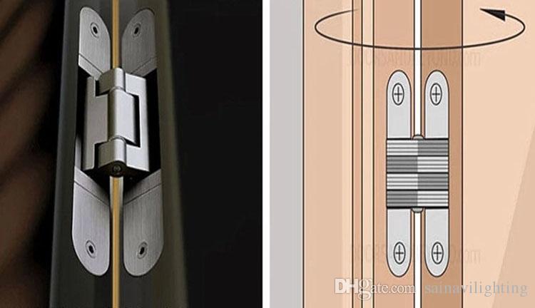 2017 304 Stainless Steel Folding Cross Door Hinge Coincide Page Hidden Hinge Concealed Hinge Hidden Hinge For Door Open Or Close From Sainavilighting ... & 2017 304 Stainless Steel Folding Cross Door Hinge Coincide Page ... Pezcame.Com