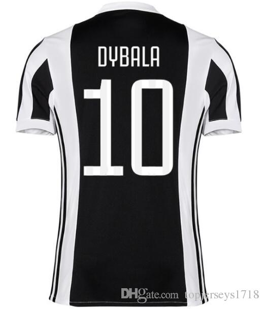 half off 87118 9d4ed Retro 2017 juventus POGBA PIRLO Marchisio Soccer Jersey 2017 2018 Football  Shirt Uniform home away 3rd Soccer jerseys