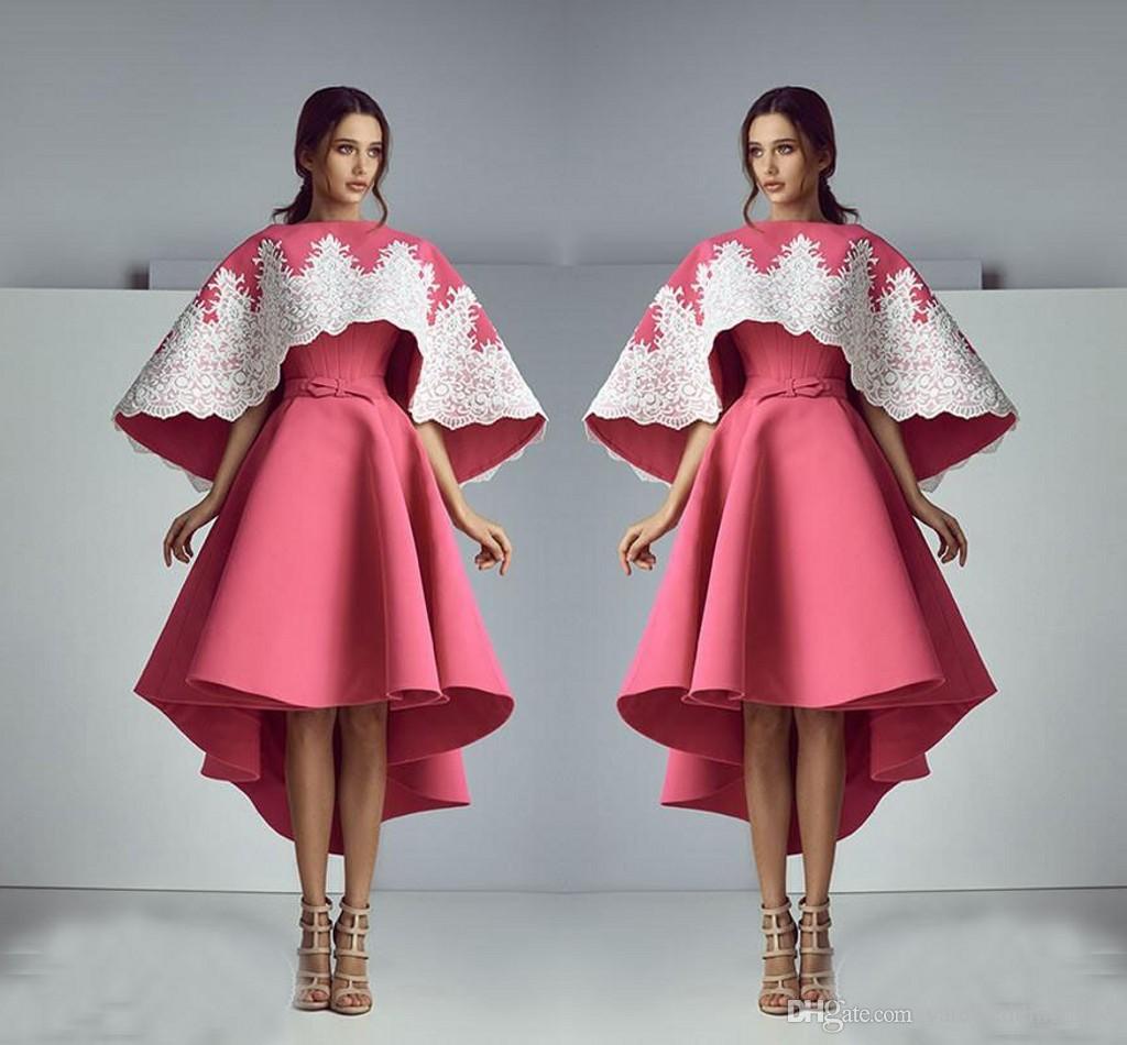Compre Vestidos De Noche De La Sandía De La Manera Elegante 2017 Con ...