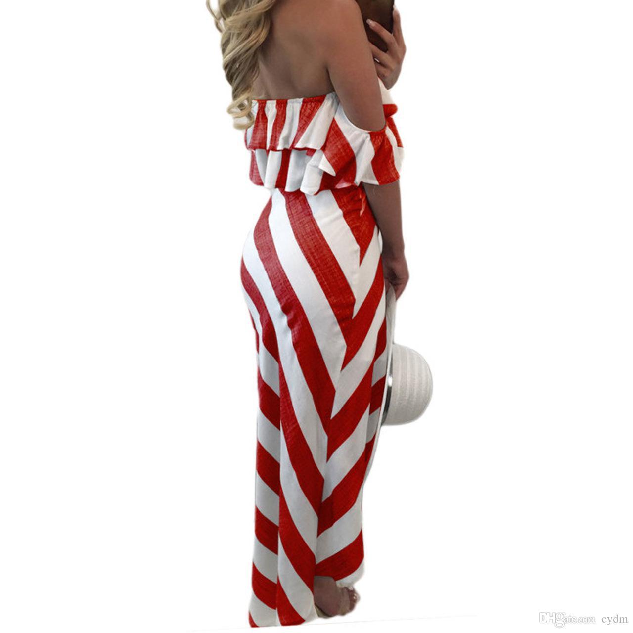 Moda europeia sexy wipes exposto folha de lótus lado cinto listrado vestido S, M, L, XL apoio misturado lote