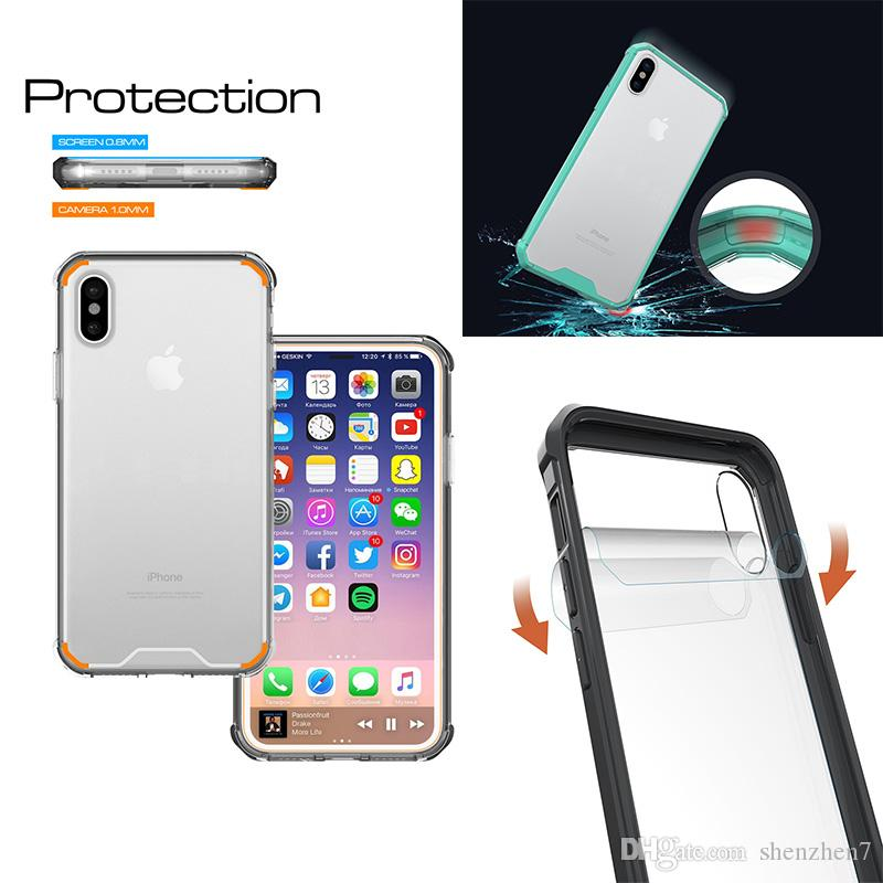 coque iphone 8 crystal clear