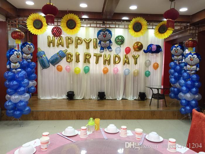 2018 Birthday Party Balloons Layout Plans Lovers Love Bar Ktv Decoration To The Hotel Room Full Moon From Angelcity1204 3016
